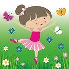 Happy Meitlis - Ballet Tänzerin von WACHtraum