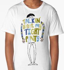 Tight pants - colour and black Long T-Shirt