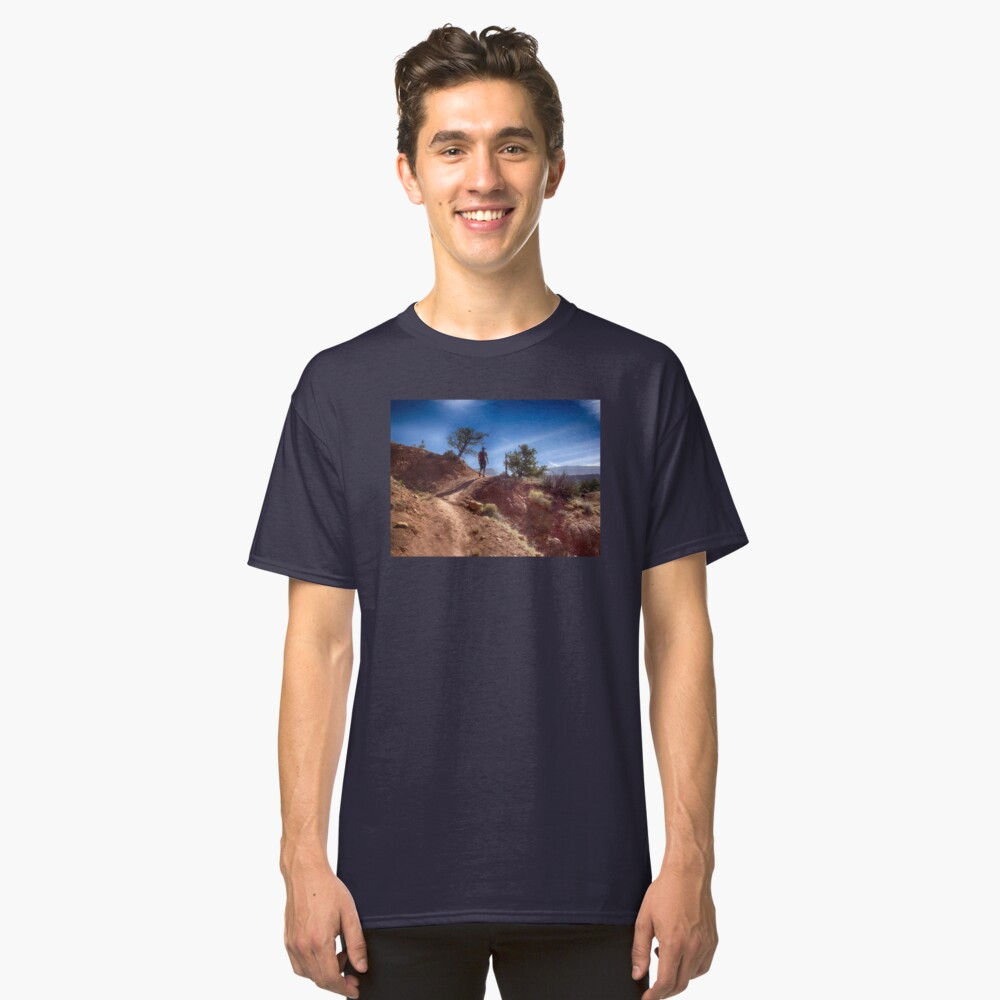 The Hiker - Kodachrome Basin State Park - Utah Classic T-Shirt Front