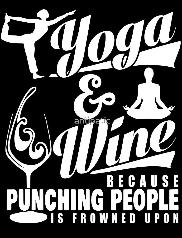 YOGA & WINE by antipatic