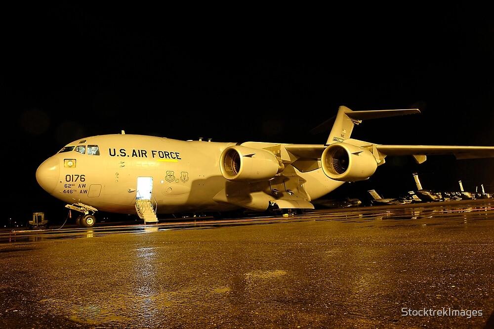 A C-17 Globemaster III by StocktrekImages