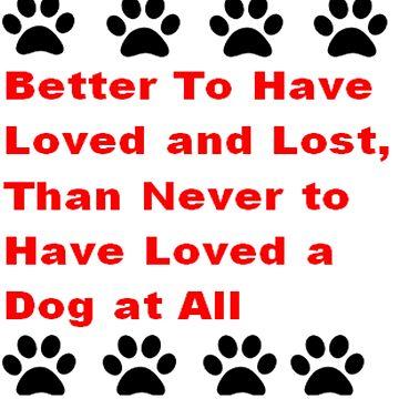PET DOG LOSS BEREAVEMENT by toppco