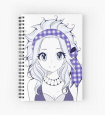 Levy screentone  Spiral Notebook