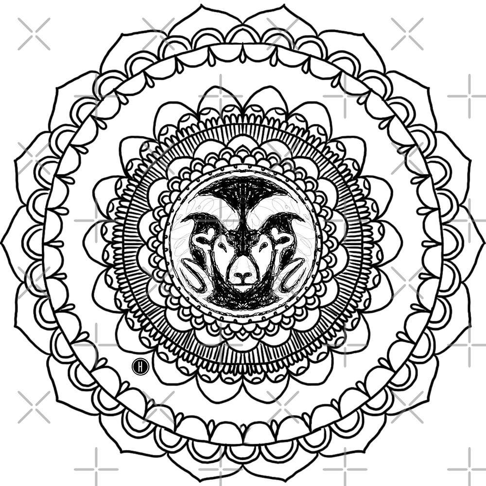 CSU Ram Mandala by Halei Agra