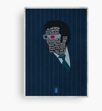 I'm The Doctor - David Tennant - Dr Who Canvas Print
