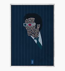 I'm The Doctor - David Tennant - Dr Who Photographic Print