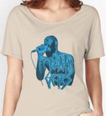 Death Grips | Colour Blue Women's Relaxed Fit T-Shirt