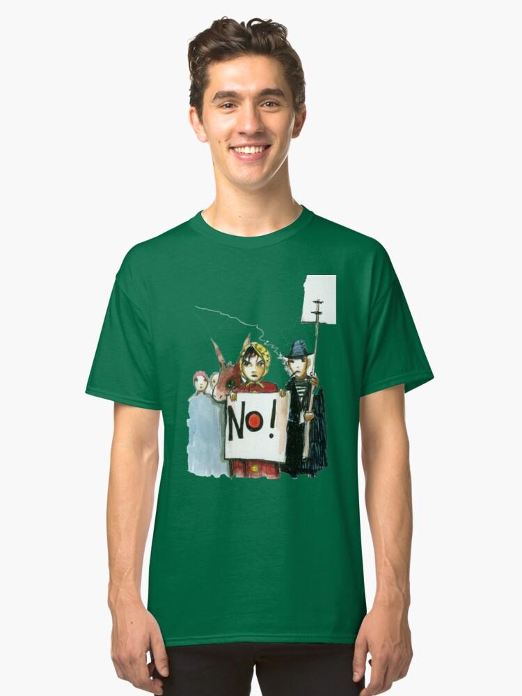 No Classic T-Shirt Front
