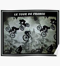LE TOUR DE FRANCE: Magical Moments Advertising Print Poster