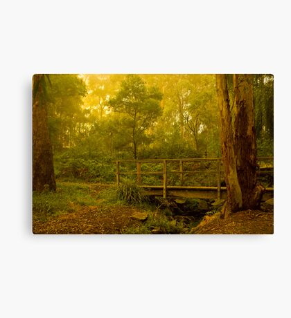 Waiting for the Troll Canvas Print