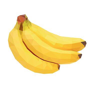 Low Poly Bananas by baba-ganoush