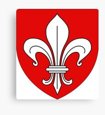 Lille coat of arms Canvas Print