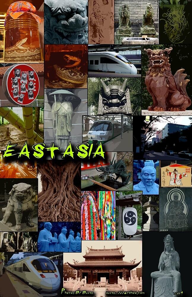 East Asia 001 by djzombie