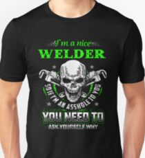 WELDER NICE GUY Unisex T-Shirt