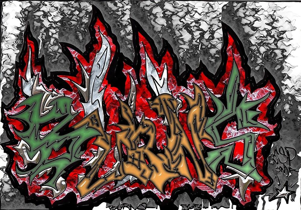 Burns by djzombie