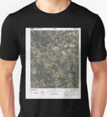 USGS TOPO Map Georgia GA Bold Springs 20110307 TM Unisex T-Shirt