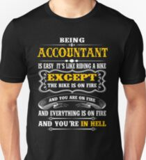 ACCOUNTANT EXCEPT MUCH COOLER Unisex T-Shirt