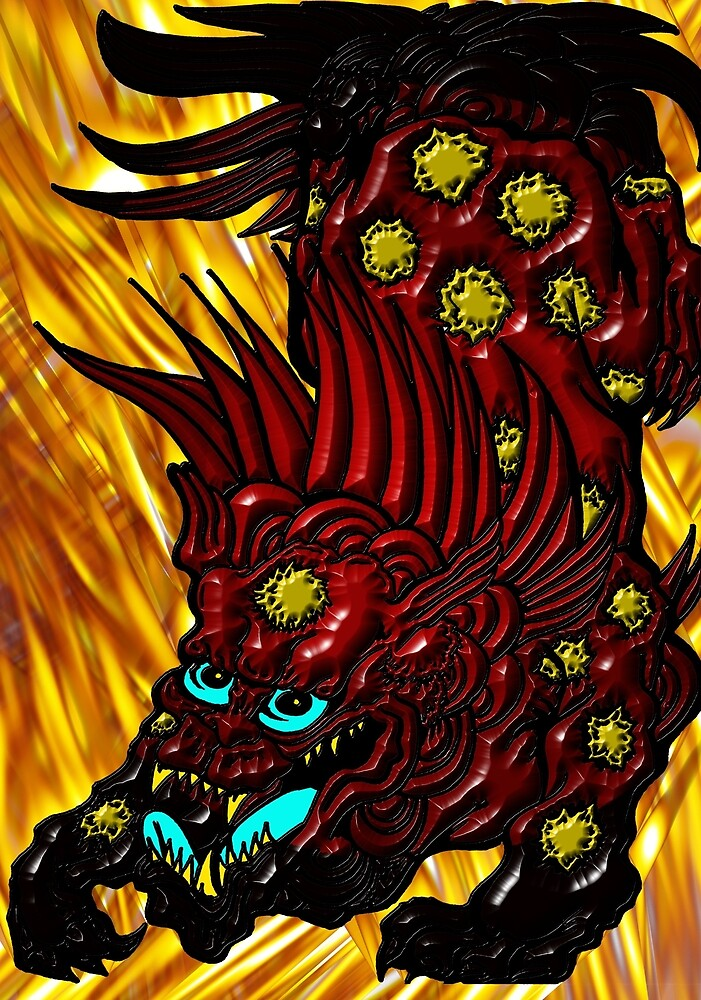 Dragon Lion 001 by djzombie