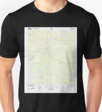 USGS TOPO Map Florida FL Bunker 20120629 TM Unisex T-Shirt