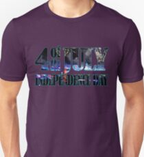 4th of July Independence Day. Los Angeles Unisex T-Shirt