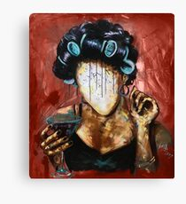 Undressed X RED Canvas Print