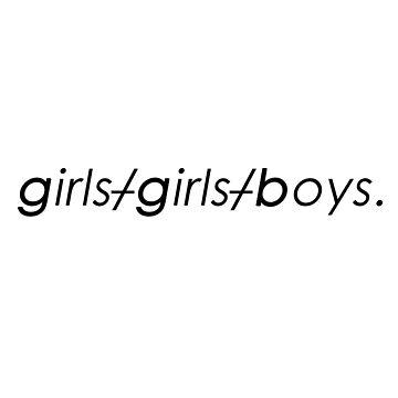 Girls Girls Boys PATD by maiwad