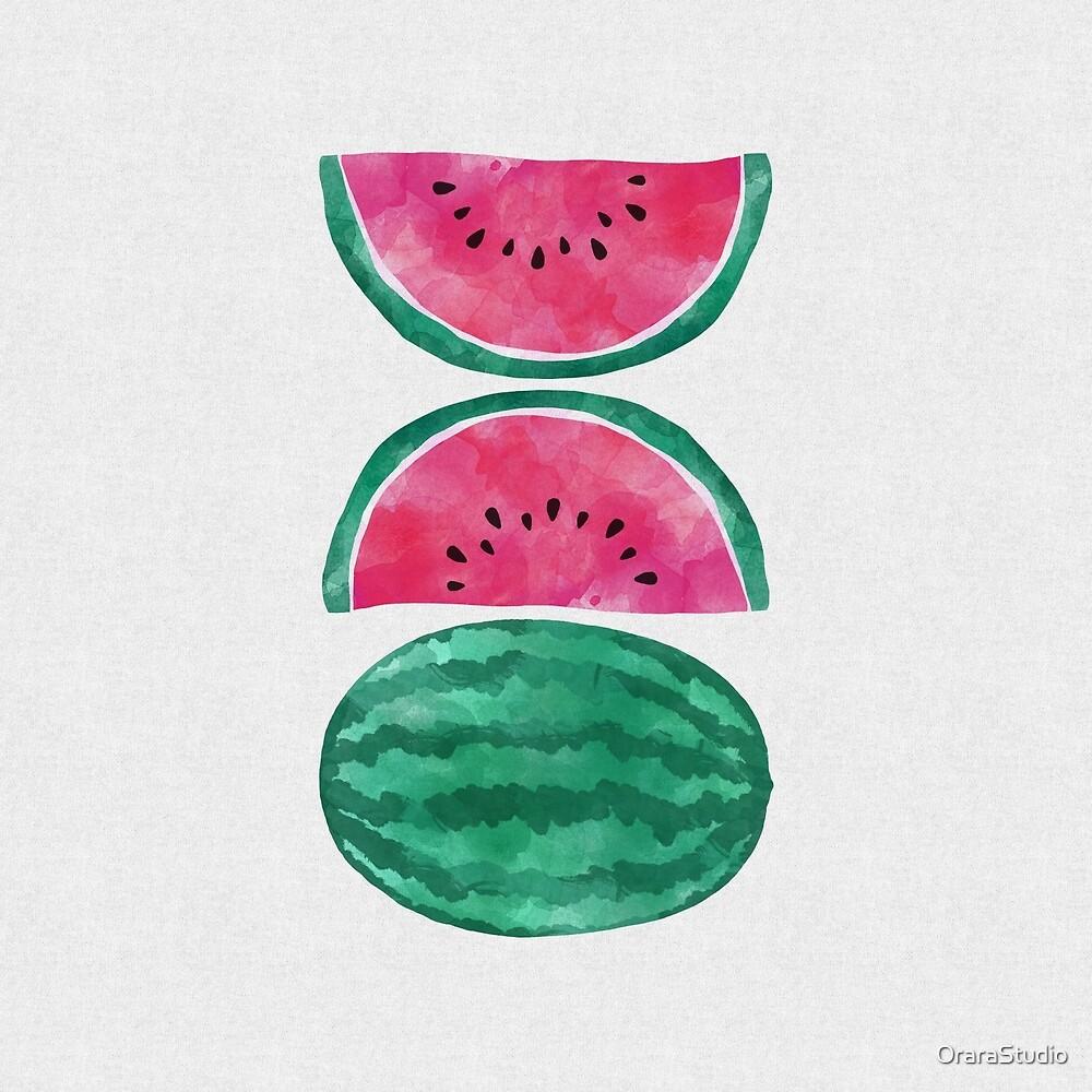 Watermelon I by OraraStudio