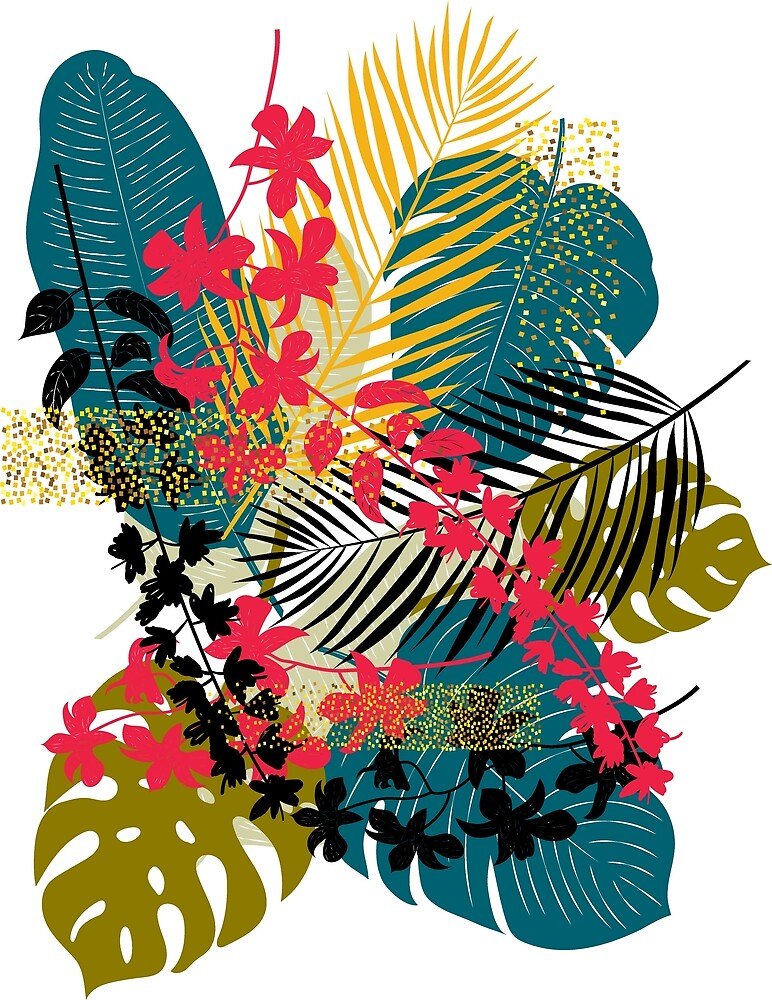 Tropical Breeze by Diane Labombarbe