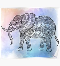 Attractive Hi-Detail Elephant Poster