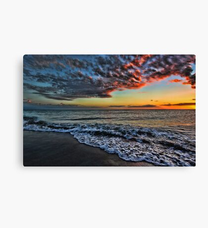 Sunset -- Venice,  Florida Canvas Print