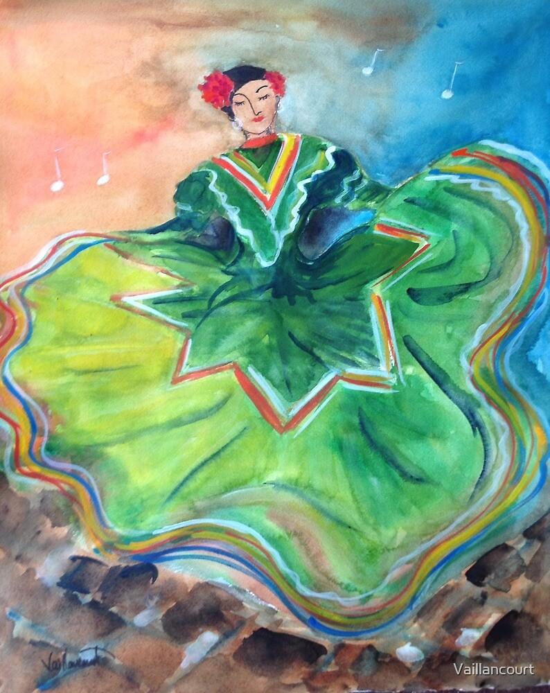 Santa Fe Fiesta Dancer by Vaillancourt