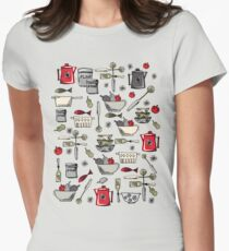 What's Cooking?  Womens Fitted T-Shirt
