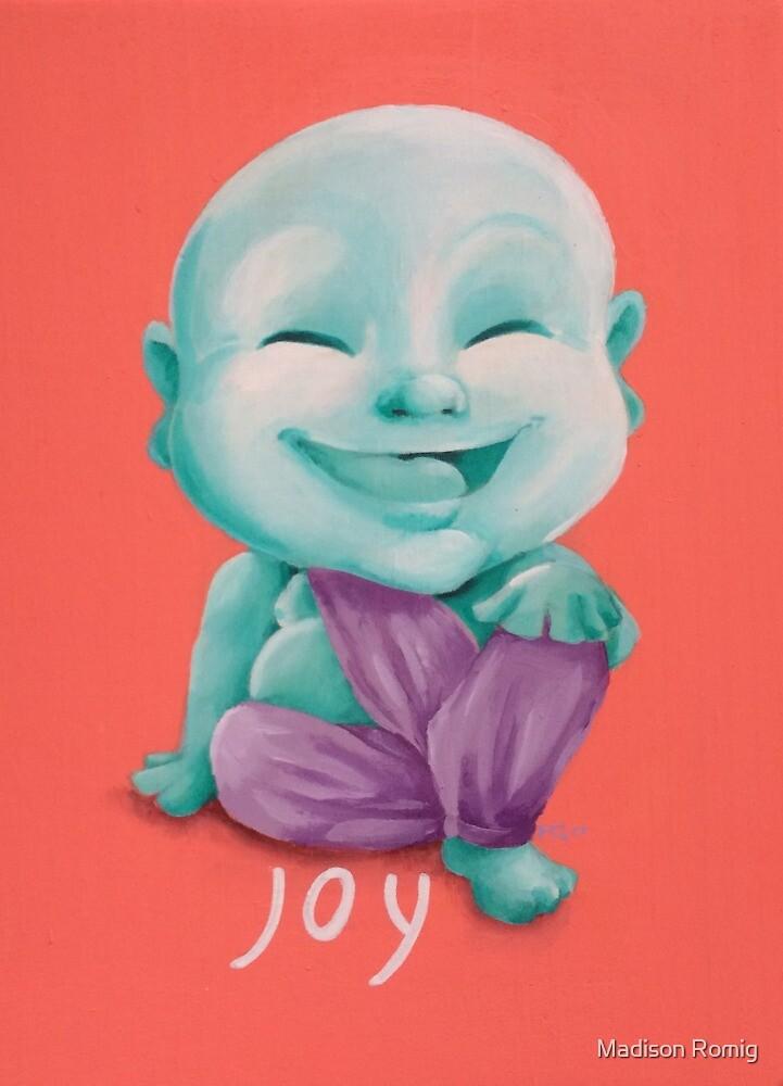 Buddha-Joy by Madison Romig