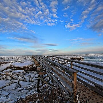 Across The Ice & Toward The Horizon - Yarmouthport, MA by rural-guy
