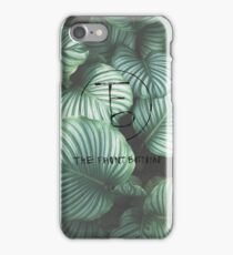 the front bottoms logo iPhone Case/Skin