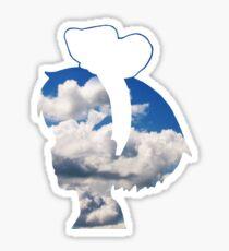 Kiki Silhouette Sticker