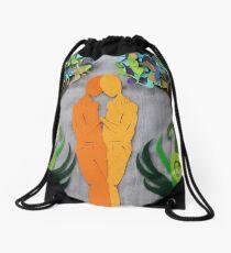 Summer Kiss #1 Drawstring Bag