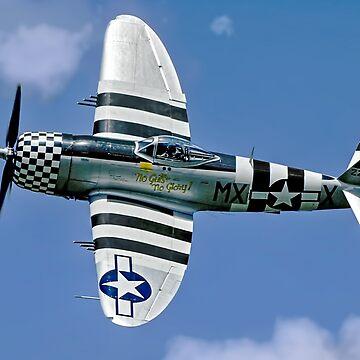 P-47D Thunderbolt 45-49192 G-THUN by oscar533