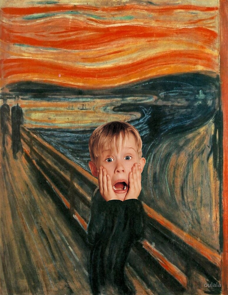 The Scream by oulala
