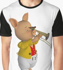P.O. Saunig Graphic T-Shirt