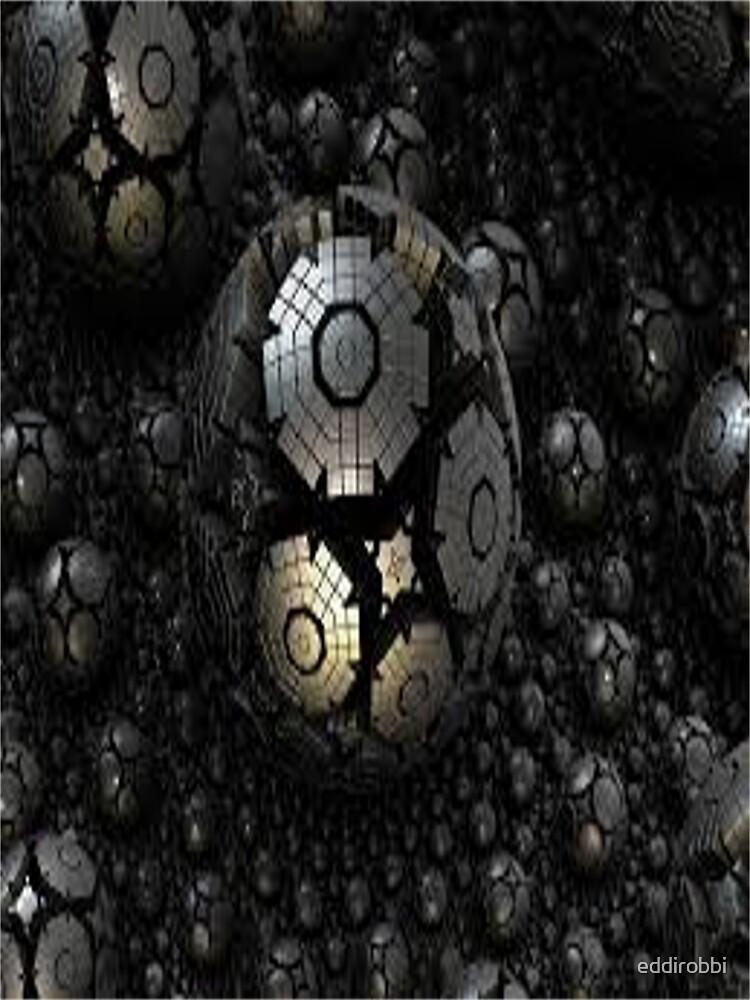 fractal, geometric, digital, art, psychedelic, abstract, new, trendy, by eddirobbi