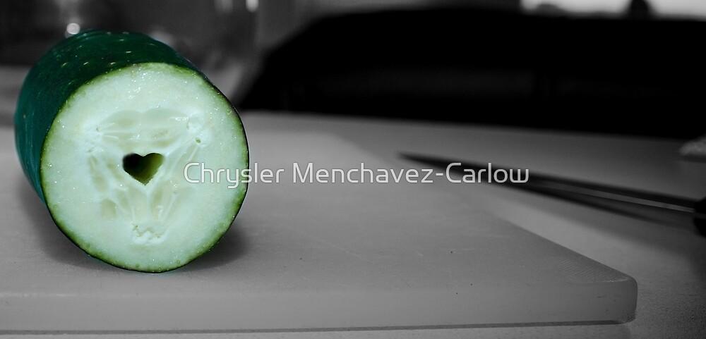 I Heart Cucumber by Chrysler Menchavez-Carlow