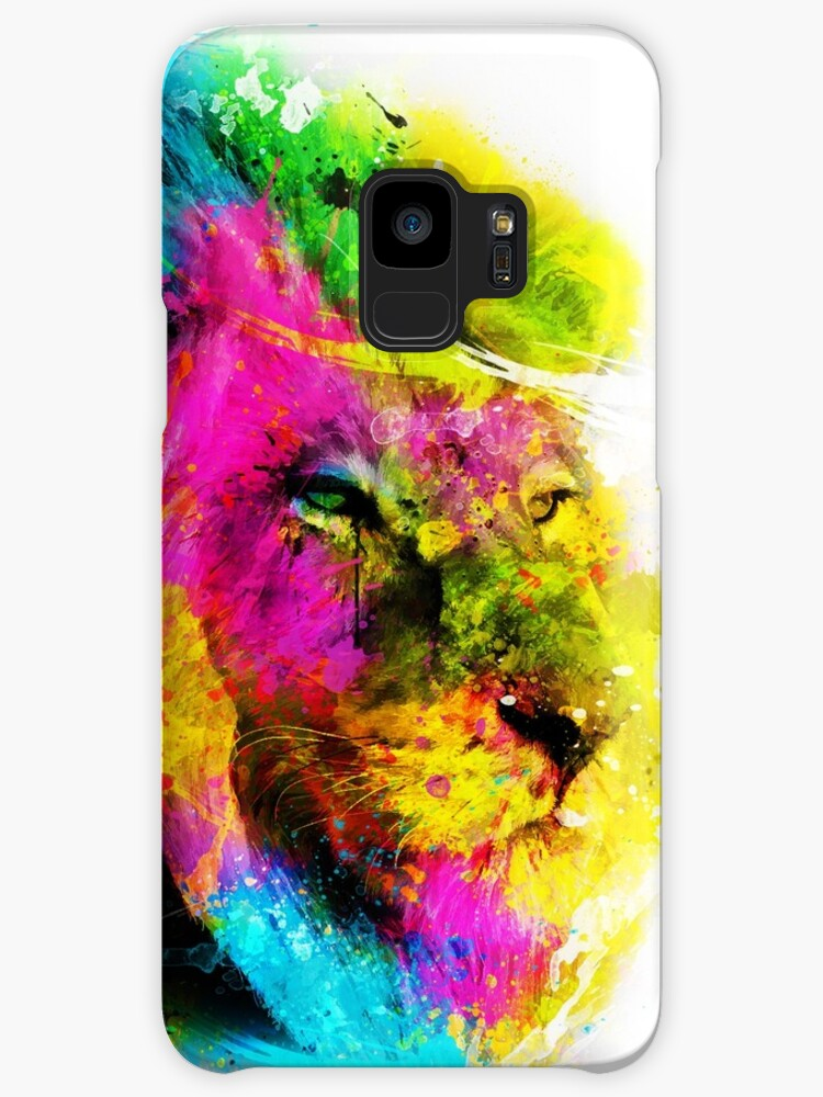 Lion in colours by purposeart