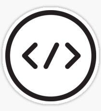 Coder Sticker