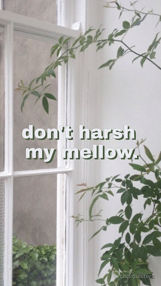 don´t harsh my mellow by charduisters
