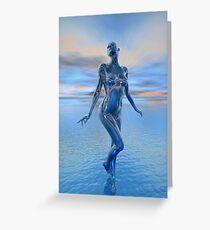 Transcension By Devine Light Greeting Card