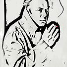 Christopher Hitchens by colourfreestyle