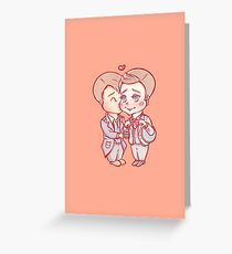 Jack x Ianto Greeting Card