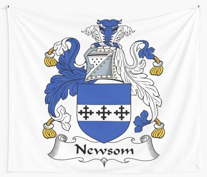 Newsom or Newsam by HaroldHeraldry