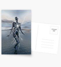 Transcension By Lightning Postcards